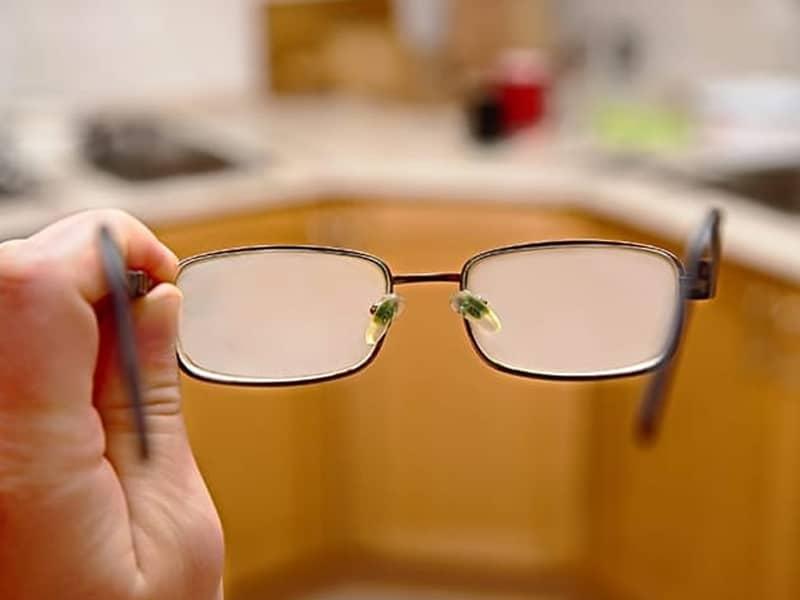 ฝ้าบนแว่นตา